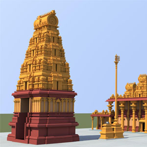 A Gopura is generally constructed with a massive stone base and a superstructure of brick and pilaster. It has detailed representation of Aagama Sastra and the main deity of that temple.&nbsp;<div><br></div><div>Monthly recurring payments if scheduled will be deducted on the same day of the month as of the initial payment.&nbsp;</div><div>Example: For Donation of $5016 to be paid over 2 years do the following. Enter Amount = $209 and select 24 Monthly Payments in Recurring Options. &nbsp;&nbsp;</div>